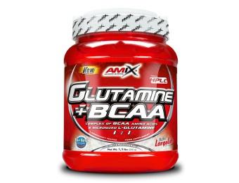 Glutamina BCAA 500 gr.