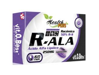 R-ALA (Acido Alfa Lipoico) 250 mg. 60 caps